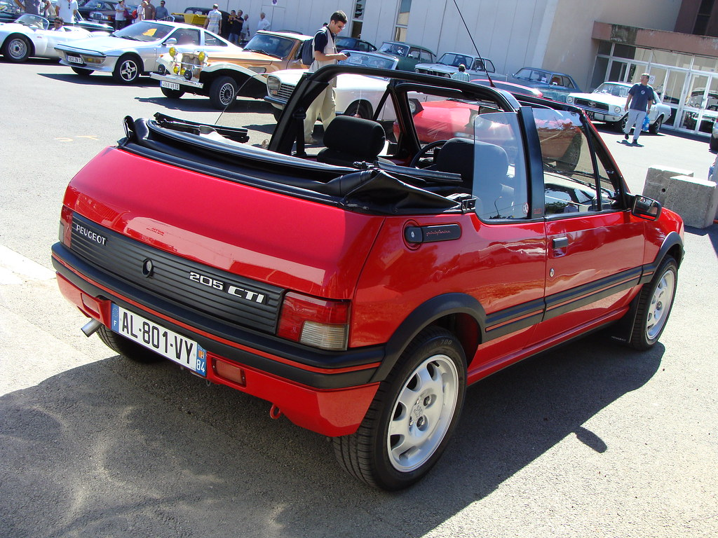 Peugeot 205 Cti 1990 Thomas Bersy Flickr