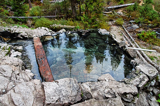 Weir Creek Hot Springs In Idaho, October, 2010 | CT Young | Flickr