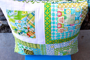 Straight lines pillow   by Darci - Stitches&Scissors