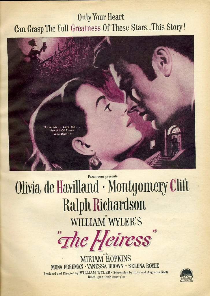 Image result for the heiress 1949