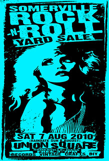 Somerville Rock And Roll Yard Sale August 7th 2010 Poster By Uncle | by what_cheer_records
