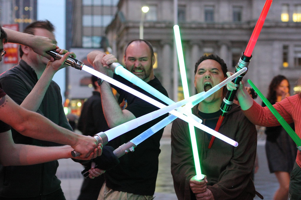 "May the Fourth, Part 1: ""Sabers"""