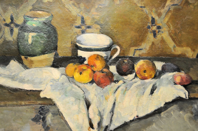 Paul Cézanne - Still Life with Jar, Cup and Apples, 1872 at Metropolitan Museum of Art New York NY