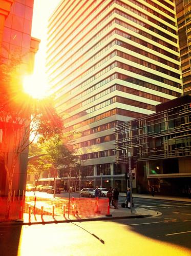 city sun color sunrise australia brisbane queensland 2010 iphone iphone4 iphonicaustralia