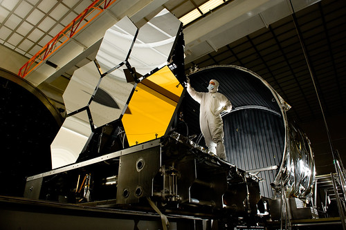 Gold-coated Primary Mirror Segment | by James Webb Space Telescope