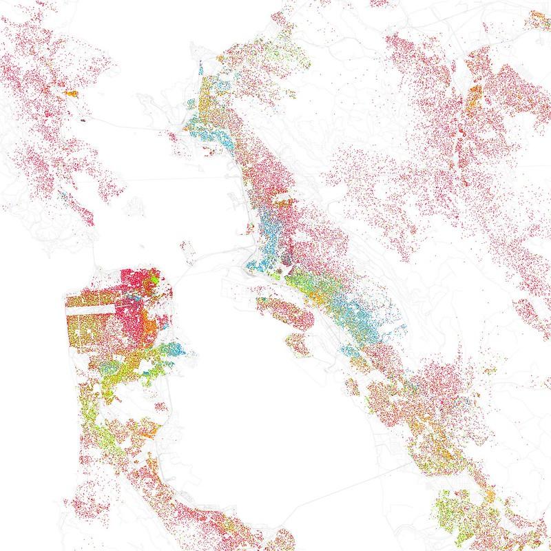 Race and ethnicity, San Francisco, Oakland, Berkeley