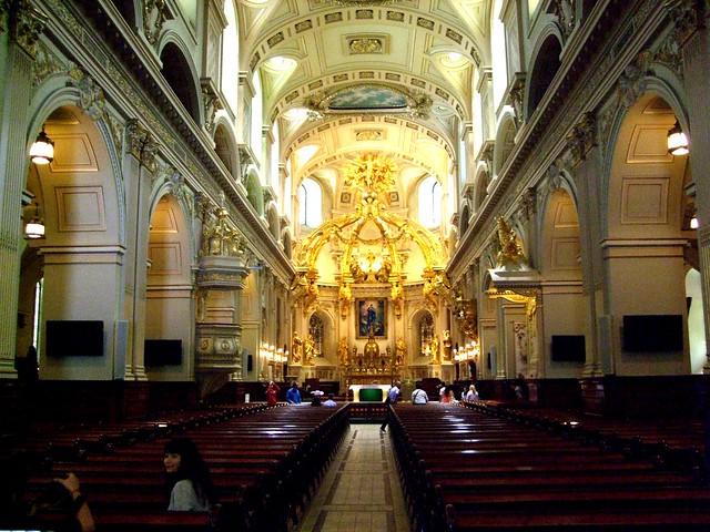 Basilique-Cathedrale de Notre-Dame de Quebec, Quebec City, Quebec, Canada