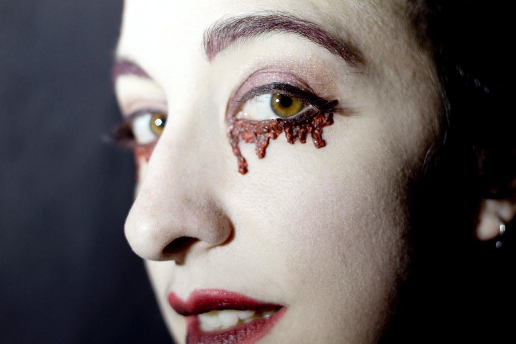 Black metal lashes: blood2