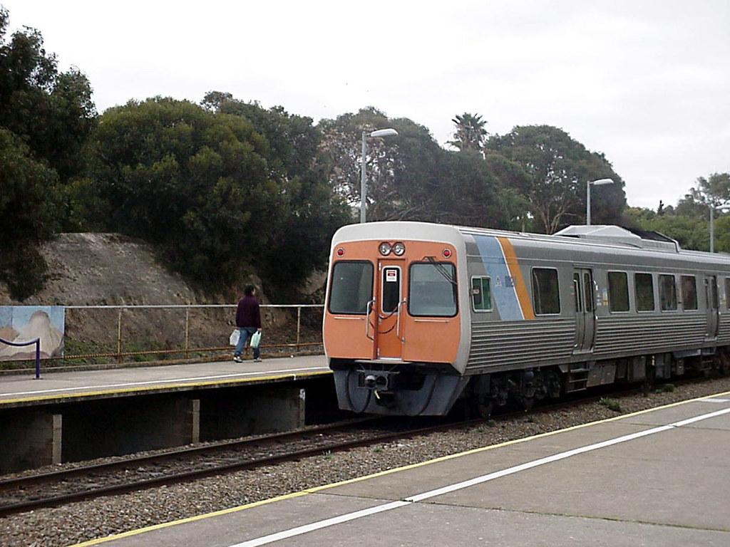 3000 class railcars, Hallett Cove Beach by baytram366