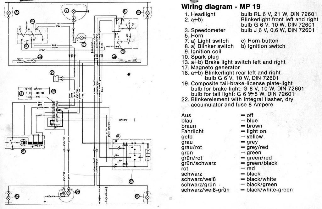 kreidler mp 19 wiring diagram jyllish flickr Guitar Wiring Diagrams