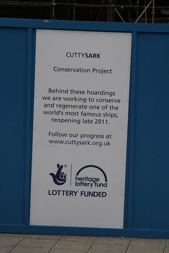 Cutty Sark Conservation Project | by Karen Roe