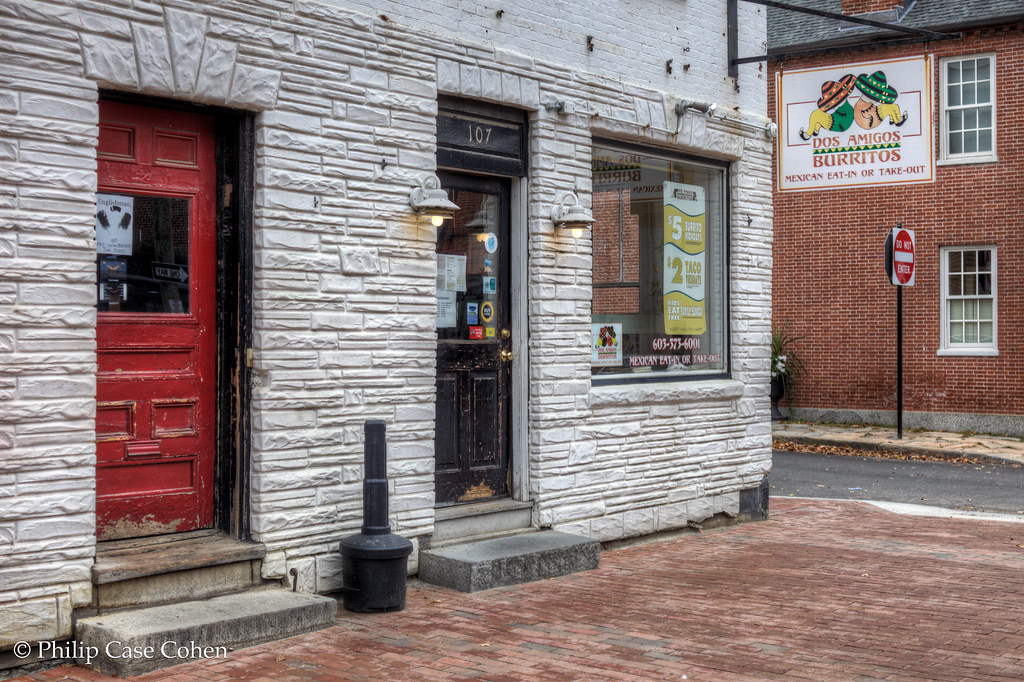 Doors on State Street by Philip Case Cohen