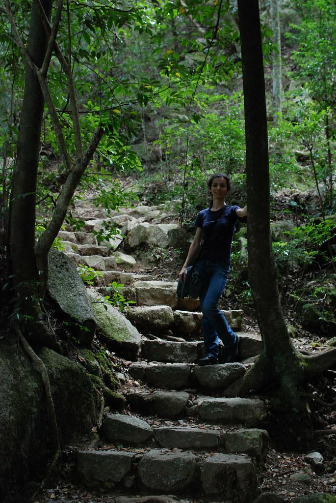 Subida al monte Isen en Mijayima