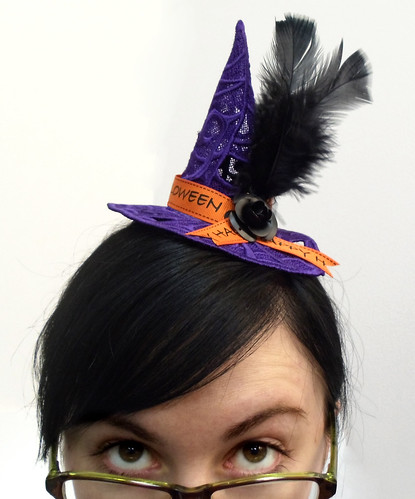 Lace Witch Hat   by Urban Threads