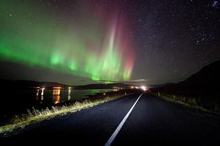 Northern Light Road | by Kiddi Kristjans