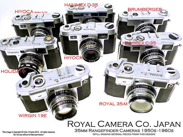 Royal Camera Co. Japan. Set