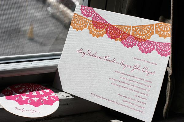 Spanish Wedding Invitations Examples: Spanish Inspired Wedding Invitations