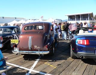 38 Pontiac Sedan Route 66 Birthday Car Show Annie Roger Wilbur