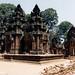 Banteai Srei objevený ve 20. století, foto: Petr Nejedlý