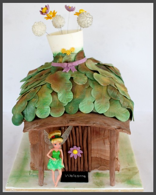 fairies welcome - Tinkerbell's house