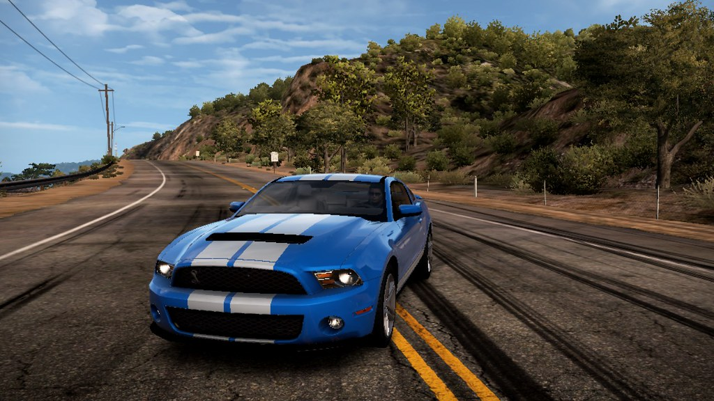 Need For Speed Hot Pursuit 2010 Ford Shelby Gt500 Blue Flickr