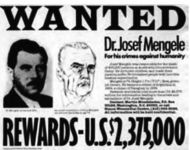 Image result for mengele wanted