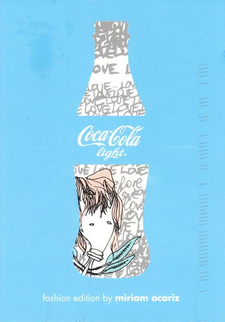 Coca Cola Light Ad Postcard
