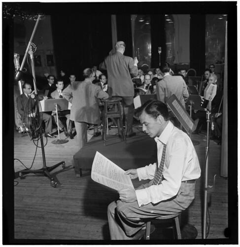 [Portrait of Frank Sinatra and Axel Stordahl, Liederkrantz Hall, New York, N.Y., ca. 1947] (LOC) | by The Library of Congress