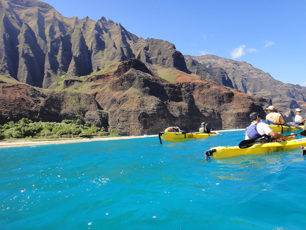 Na Pali sea Kayaking