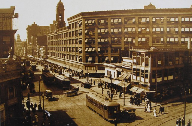 Rochester NY ~ Sibley Department Store ~ Vintage Photo