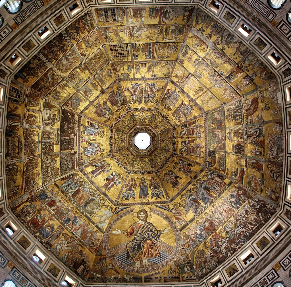 Battistero Di San Giovanni I Mosaici Della Cupola Flickr