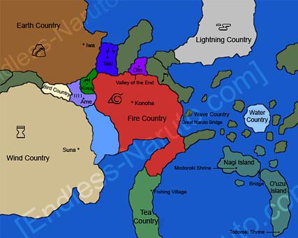 naruto world map   xRainbowMascara   Flickr