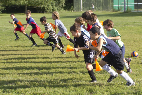 soccer cone race | by woodleywonderworks