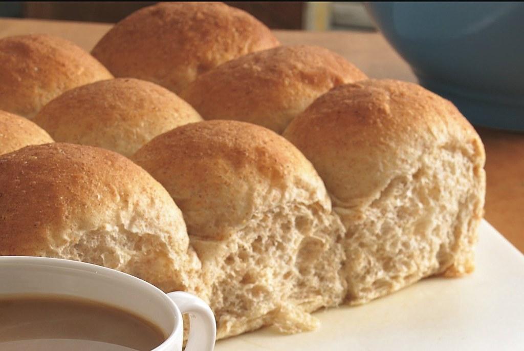 Bread Machine Whole Wheat Dinner Rolls Recipe Ingredients Flickr