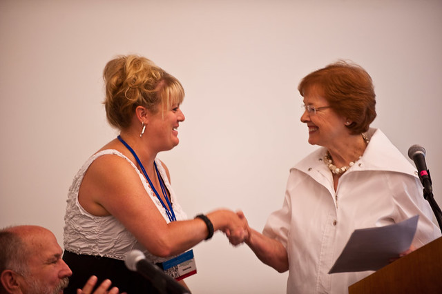 Liz Brosnan, Planning Committee Chair, Carol Goodheart
