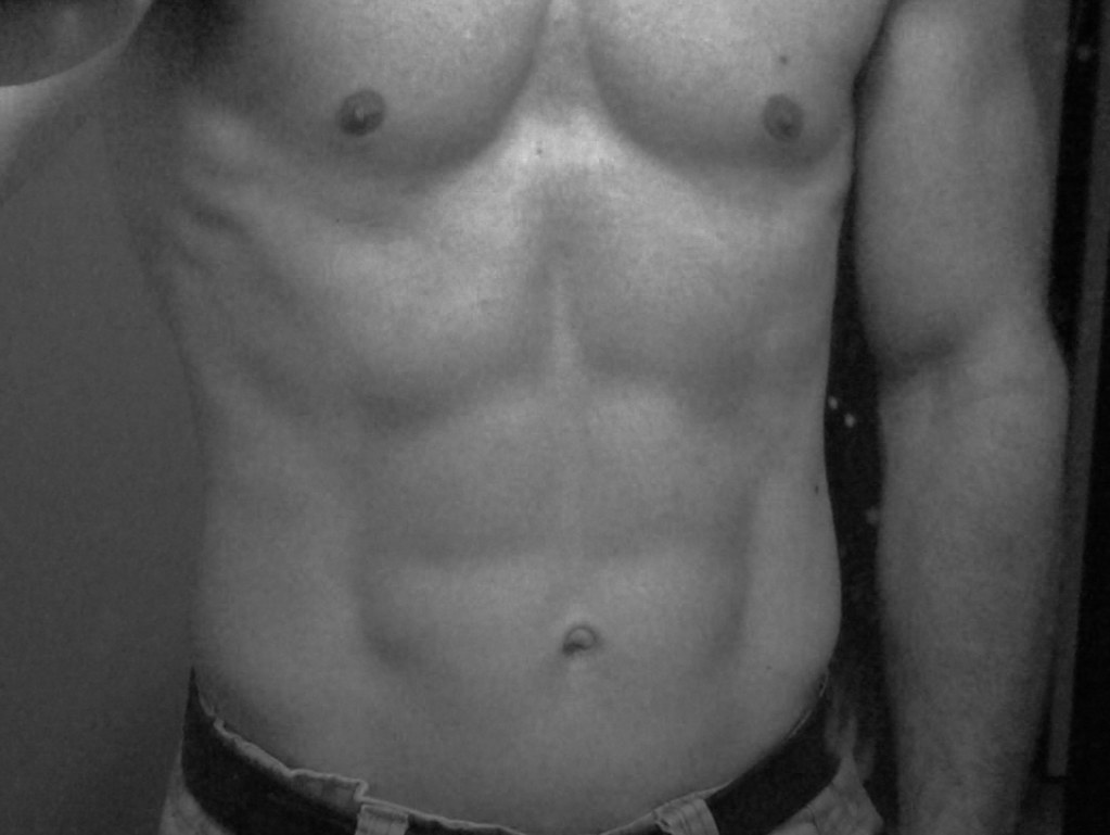 My P90X Six Pack! | Got to be 200lbs with 25%-26% body fat