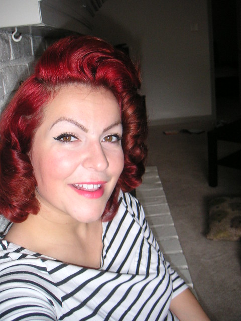 Jayne Mansfield Inspired hairstyle