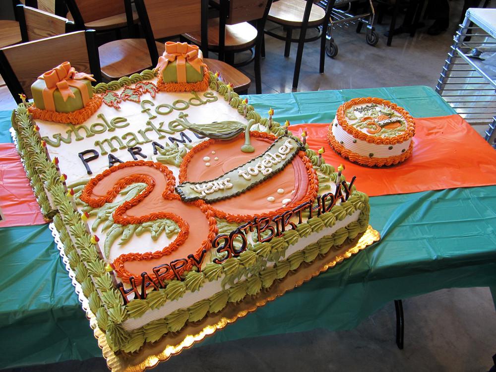 Whole Foods Market Paramus 30th Birthday Cake By Tony Tone Albanese