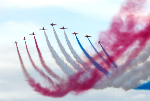 Red Arrows | by Richard Towell