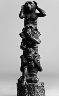 Day 13/365 - See No Evil, Hear No Evil, Speak No Evil   by Richard Perry