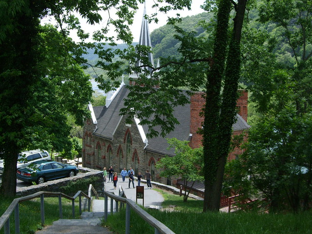 St. Peter Catholic Church, Harpers Ferry, WV