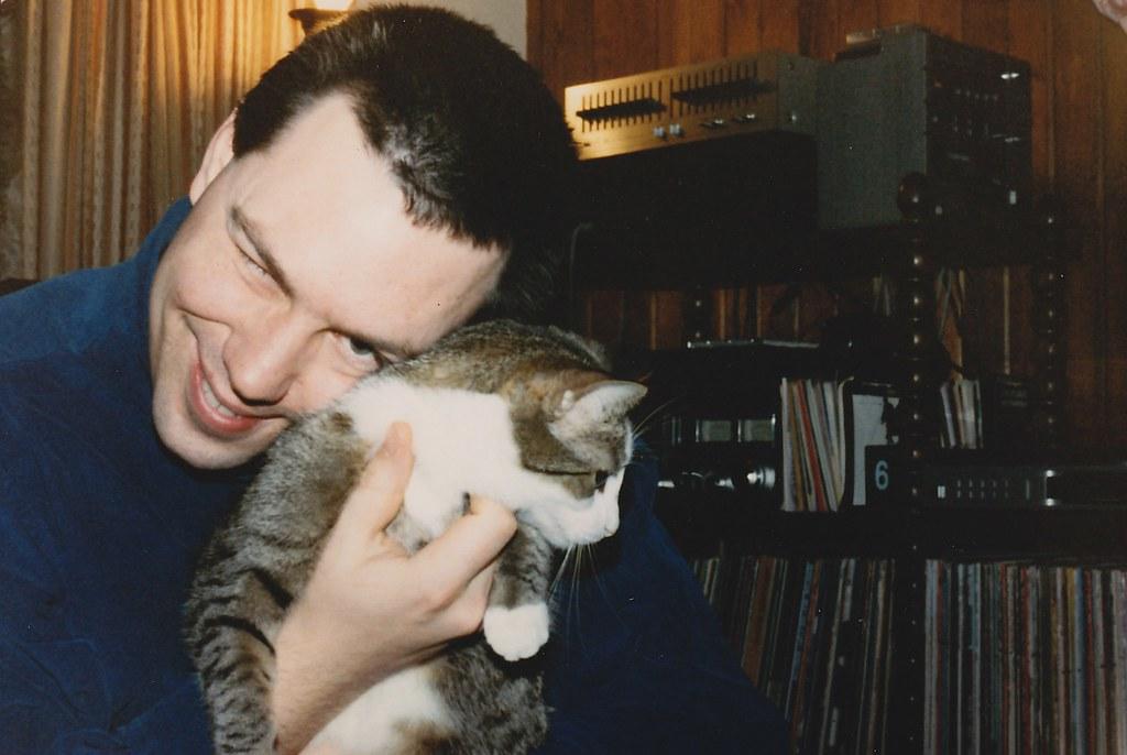 kitty cuddling