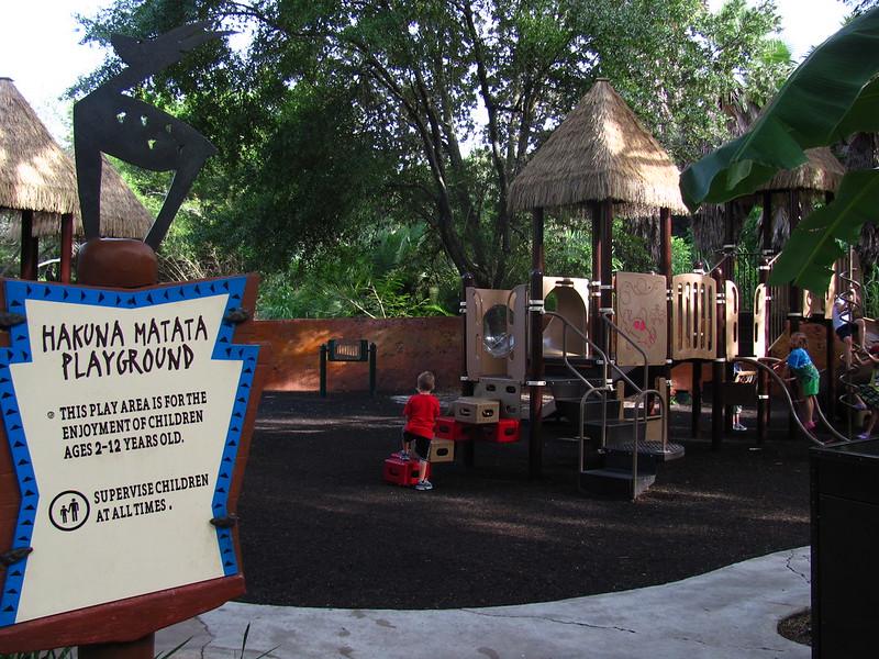 Hakuna Matata Playground at Jambo House at Animal Kingdom Lodge