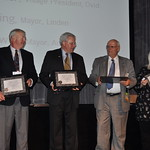 MML Elected Officials Academy Level 3 Graduates William Lasher, David Lossing, Gary McDowell and Susan Baldwin