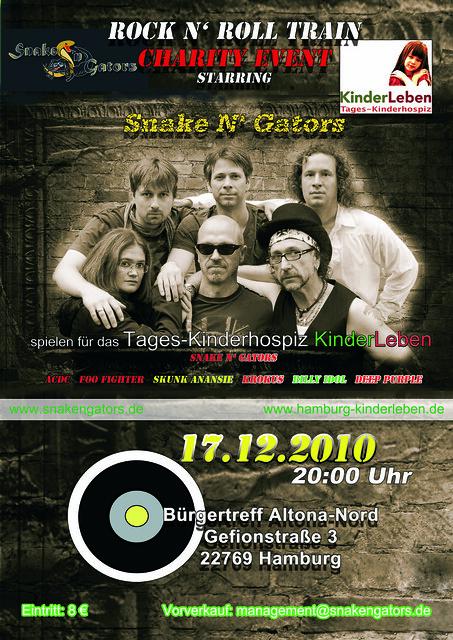Snake N' Gators charity event
