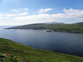 Above Hov - Landscape and Seascape in Suðuroy, Faroe Islands