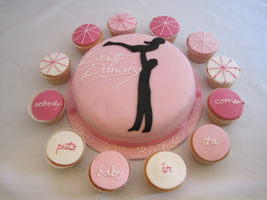 Awe Inspiring Dirty Dancing Cakes Dirty Dancing Birthday Cake With Match Flickr Personalised Birthday Cards Petedlily Jamesorg