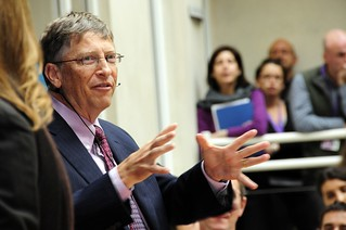 Bill Gates speaks to staff at DFID | by DFID - UK Department for International Development