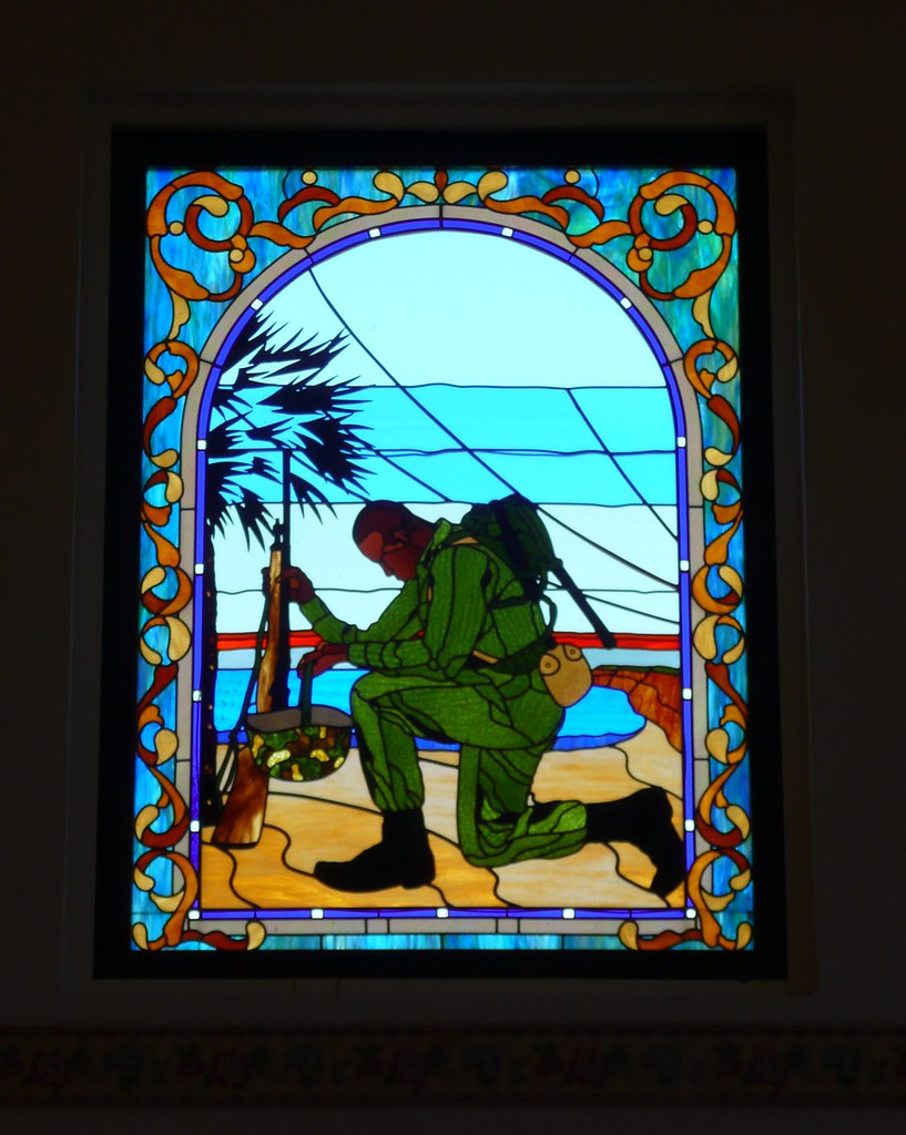 Stained Glass San Diego.Mcrd San Diego Ca Chapel Stained Glass Bertram Goodhue De