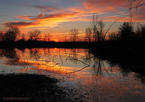 morning blue autumn red cloud sun sunlight lake cold color reflection tree nature water silhouette clouds sunrise dark landscape photography pond outdoor michigan scenic morningsky westmichigan jenison grandriverpark canont1i